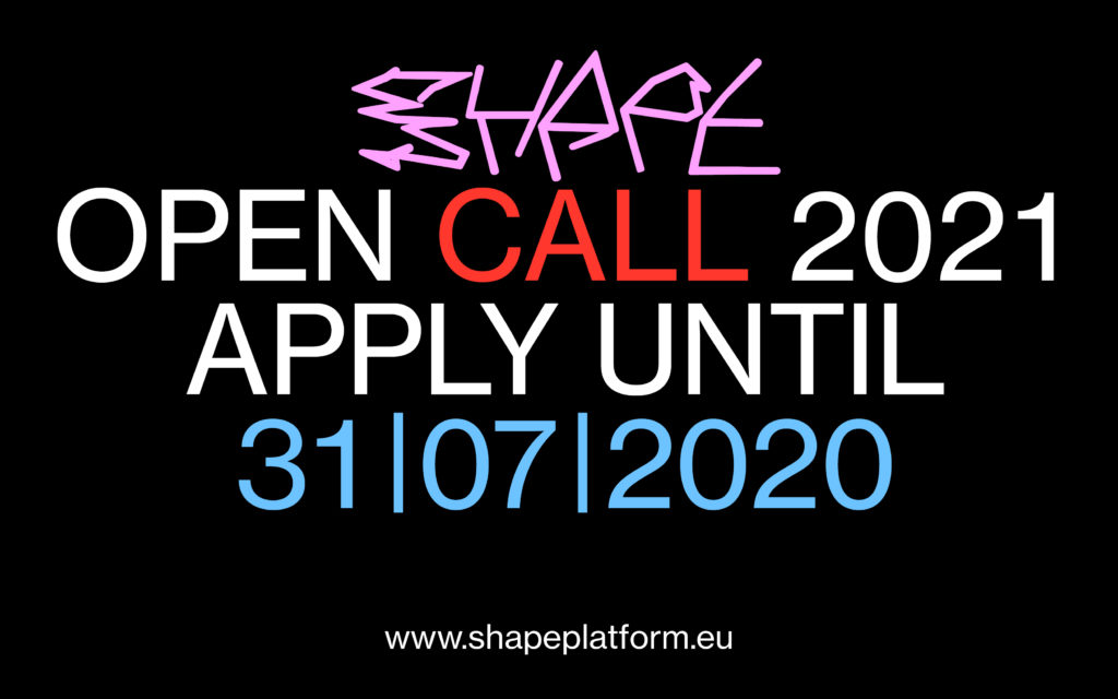 shape announces open call for 2021 shape shape announces open call for 2021 shape